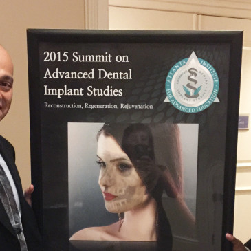 Dr. Bagheri and Dr. Digumarthi Attend the 2015 Summit on Advanced Dental Implant Studies