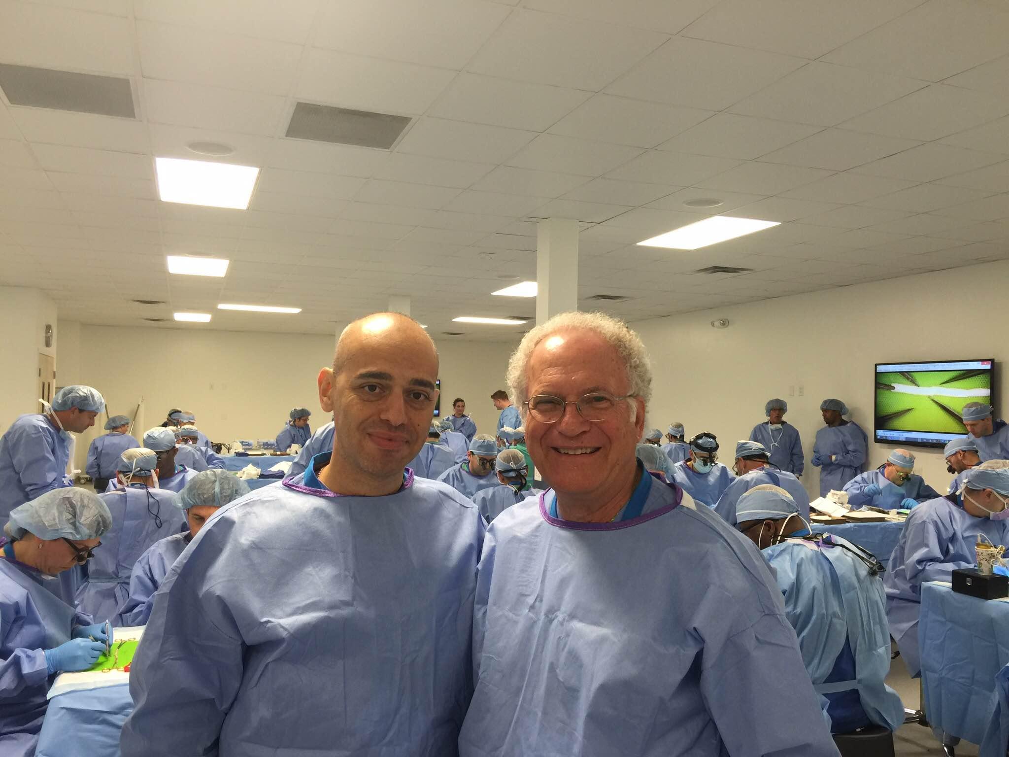 Dr. Bagheri and Dr. Meyer