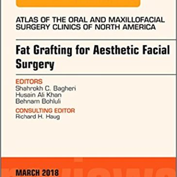 Upcoming Publication (March 2018)-Fat Grafting for Aesthetic Facial Surgery